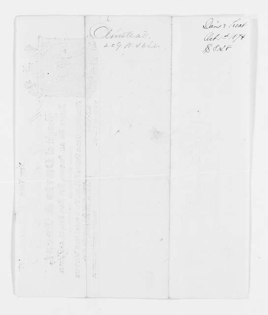 Frederick Law Olmsted Papers: 1975 Addition, 1821-1924; Financial papers; Bills, receipts, etc.; 1874