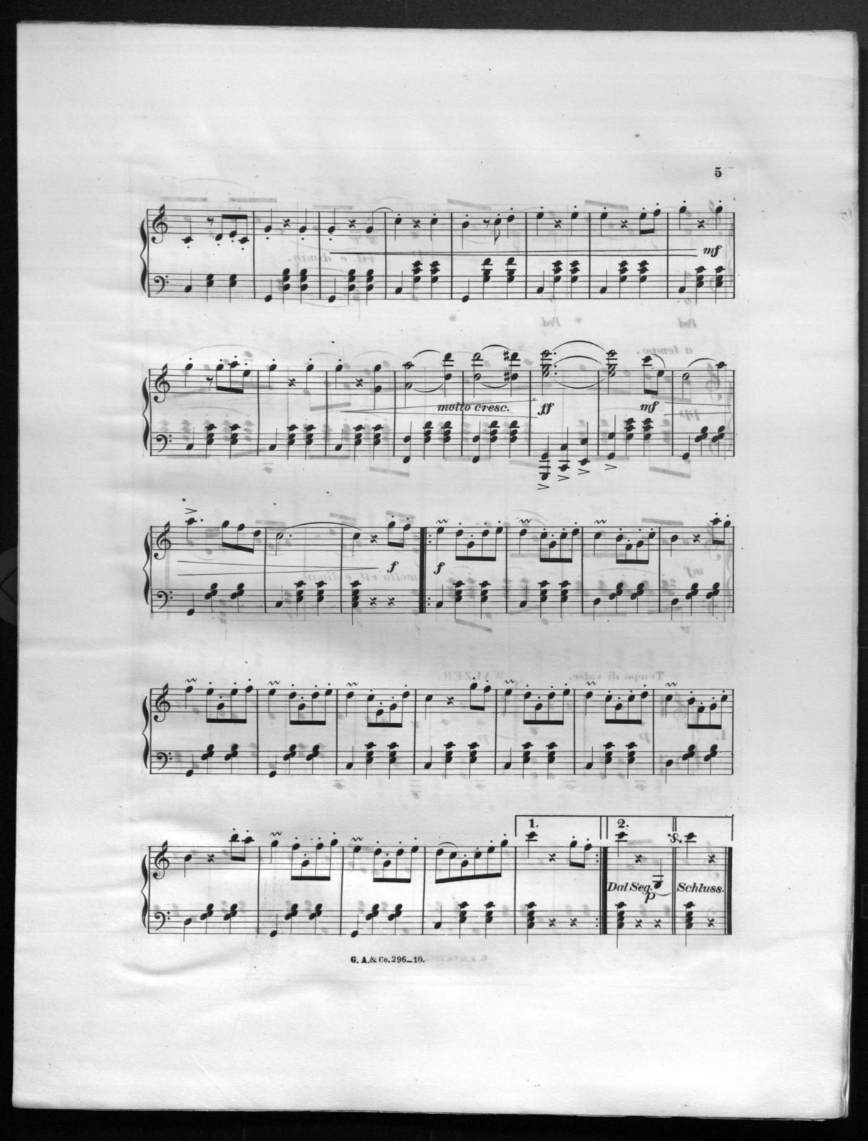 Frohsinn Walzer, op. 29