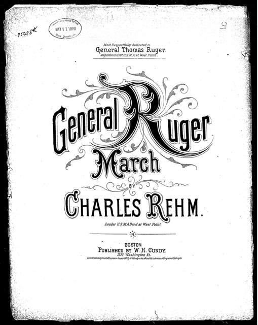 General Ruger march