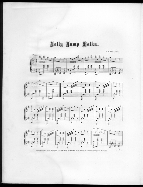 Jolly jump polka