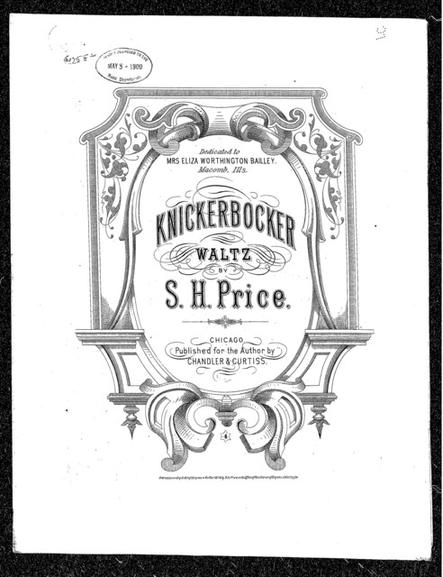 Knickerbocker waltz