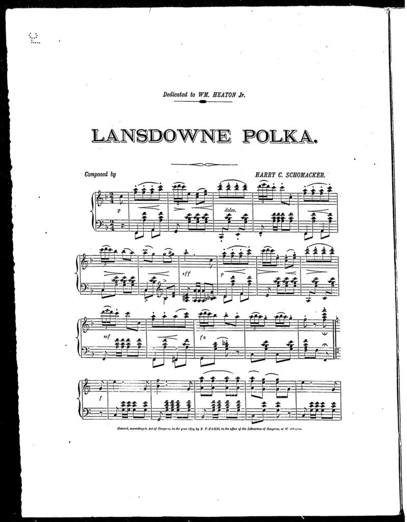 Lansdowne polka
