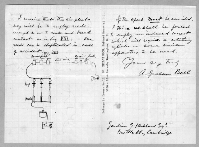 Letter from Alexander Graham Bell to Alexander Melville Bell, December 1, 1874