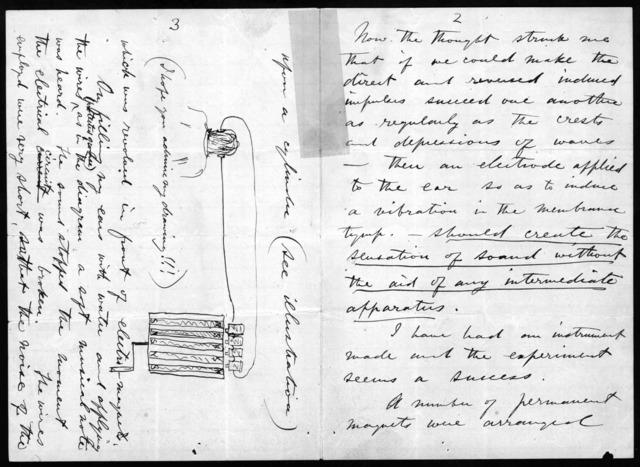 Letter from Alexander Graham Bell to Clarence J. Blake, December 15, 1874