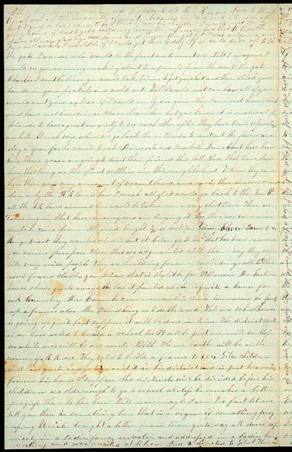 Letter from Mattie V. Oblinger to Thomas Family, April 12, 1874