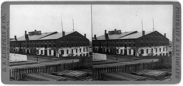 Libby Prison, [Richmond, Va.] / photographed and published by E.S. Lumpkin & Co., 1011 Main Street.
