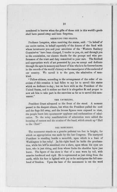 Lincoln, Abraham - Folder 2 of 4