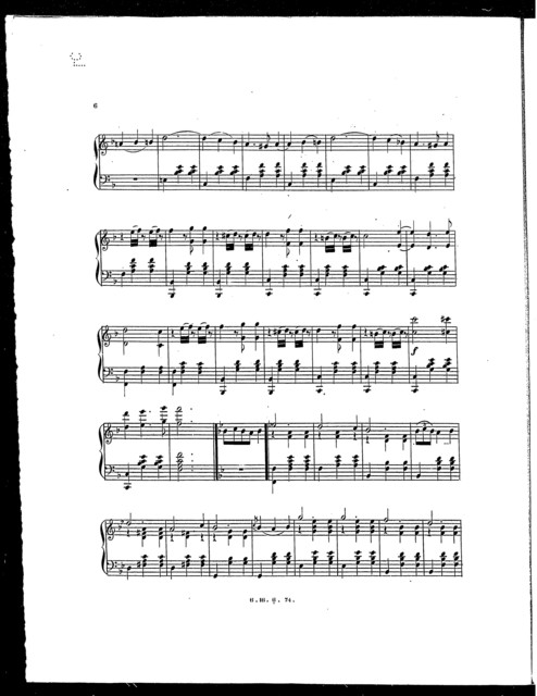 Monogram waltz
