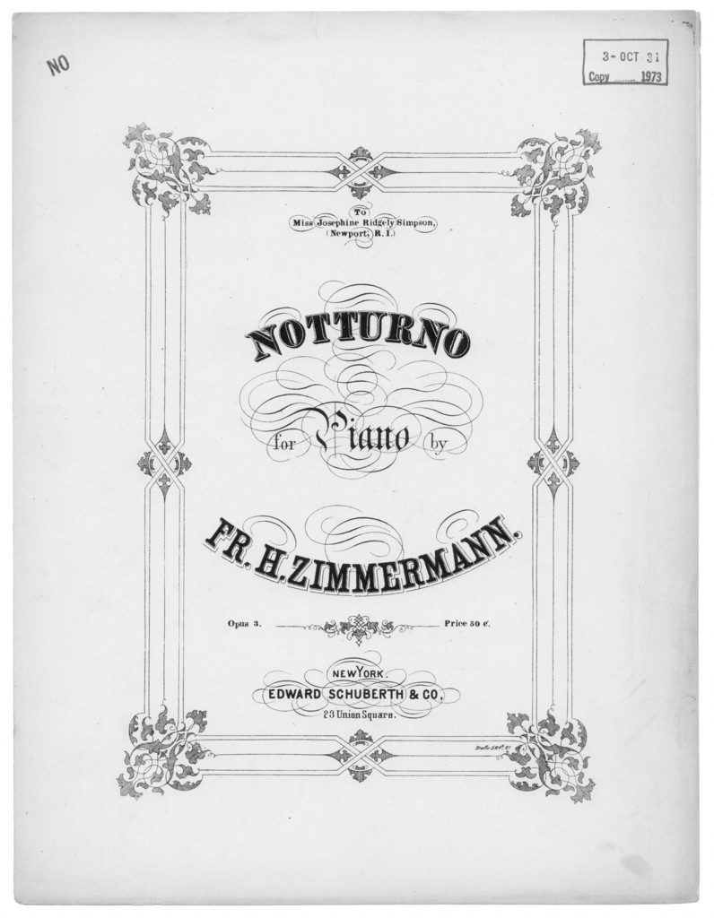 Notturno, op. 3