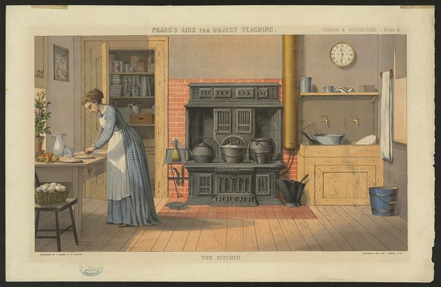 Prang's aids for object teaching--The kitchen