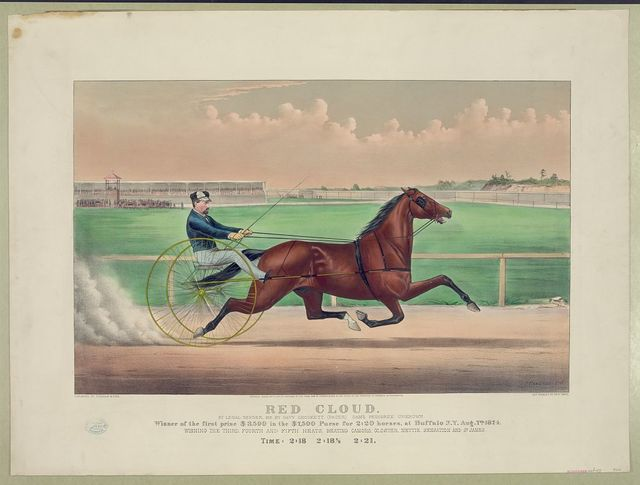 Red Cloud: by Legal Tender, He by Davy Crockett, (pacer) Dam's pedigree unknown