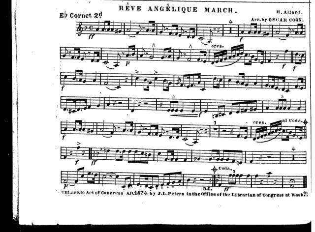 Reve angelique march