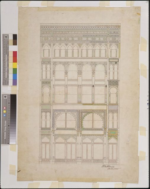 [Rice, Goodwin, Walker & Co., New York City. Elevation. Rendering]