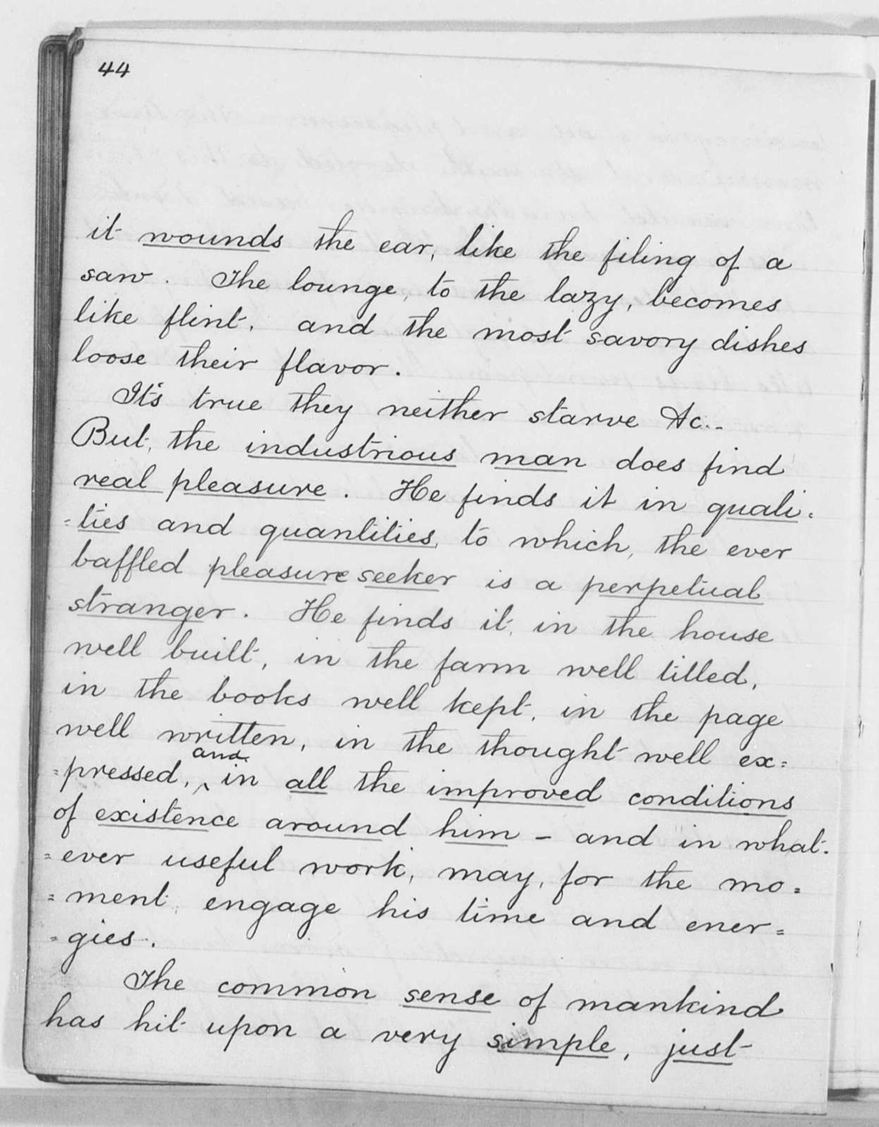 """""""Self-Made Men."""" Address before the Students of the Indian Industrial School at Carlisle, Pa. - Folder 13 of 16"""