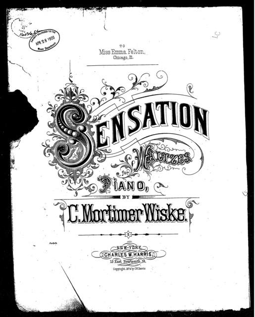 Sensation waltzes
