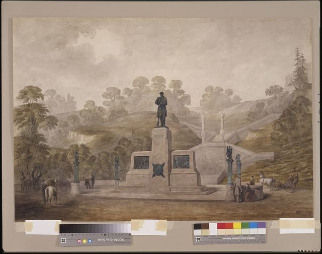 [Seventh Regiment Memorial, New York City. Rendering]