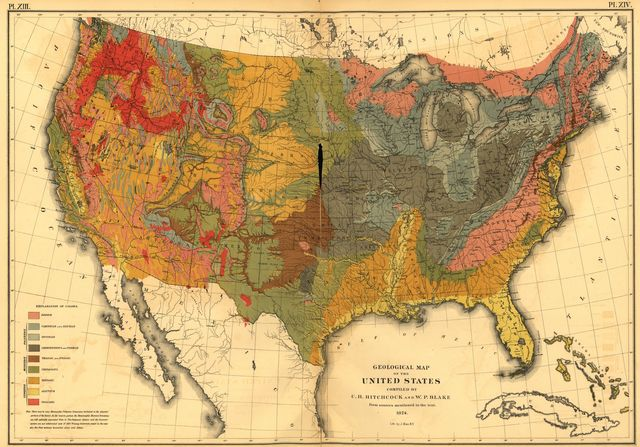 Statistical atlas of the United States based on the results of the ninth census 1870 with contributions from many eminent men of science and several departments of the government