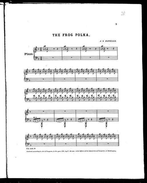 The  Frog polka