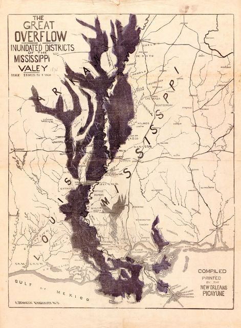 The Great overflow : Inundated districts of the Mississippi Valey [sic] /
