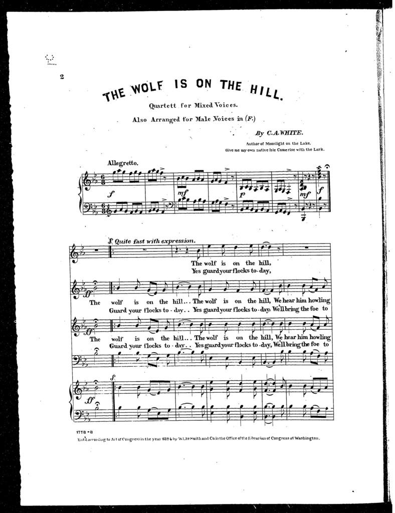 The  Wolf is on the hill
