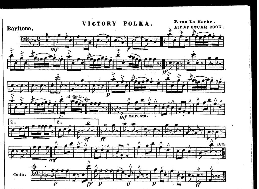 Victory polka