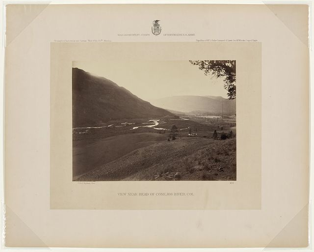 View near head of Conejos River, Col. / T. H. O'Sullivan, phot.