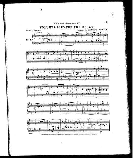 Voluntaries for the organ, Book IV