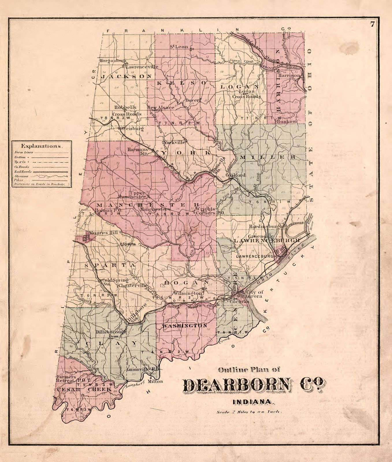 Atlas of Dearborn County, Indiana : to which is added a map of the on indianapolis indiana us map, indiana postal codes map, indiana hardiness zone map, indiana brownfields map, indiana quail map, indiana road map, indiana mines map, indiana arkansas map, indiana senate map, putnam county indiana map, indiana reference map, indiana industrial map, indiana on the map, indiana department of homeland security map, indiana women's prison map, indiana on us map, indiana street map, hotels downtown indianapolis indiana map, indiana usa map, indiana state map postcard,