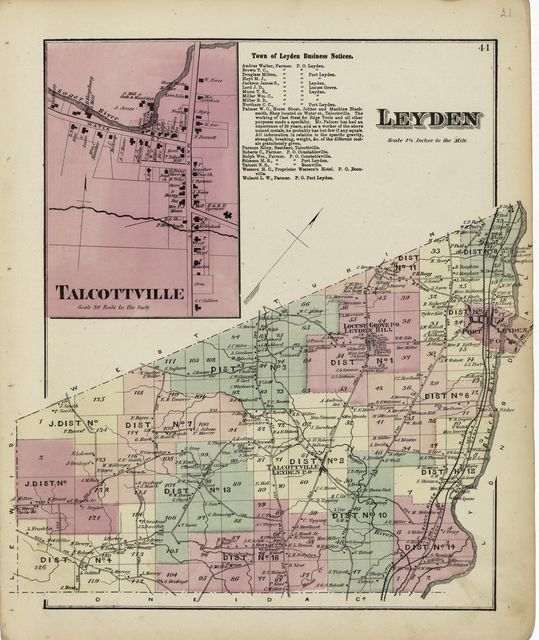 Atlas of Lewis Co., New York /
