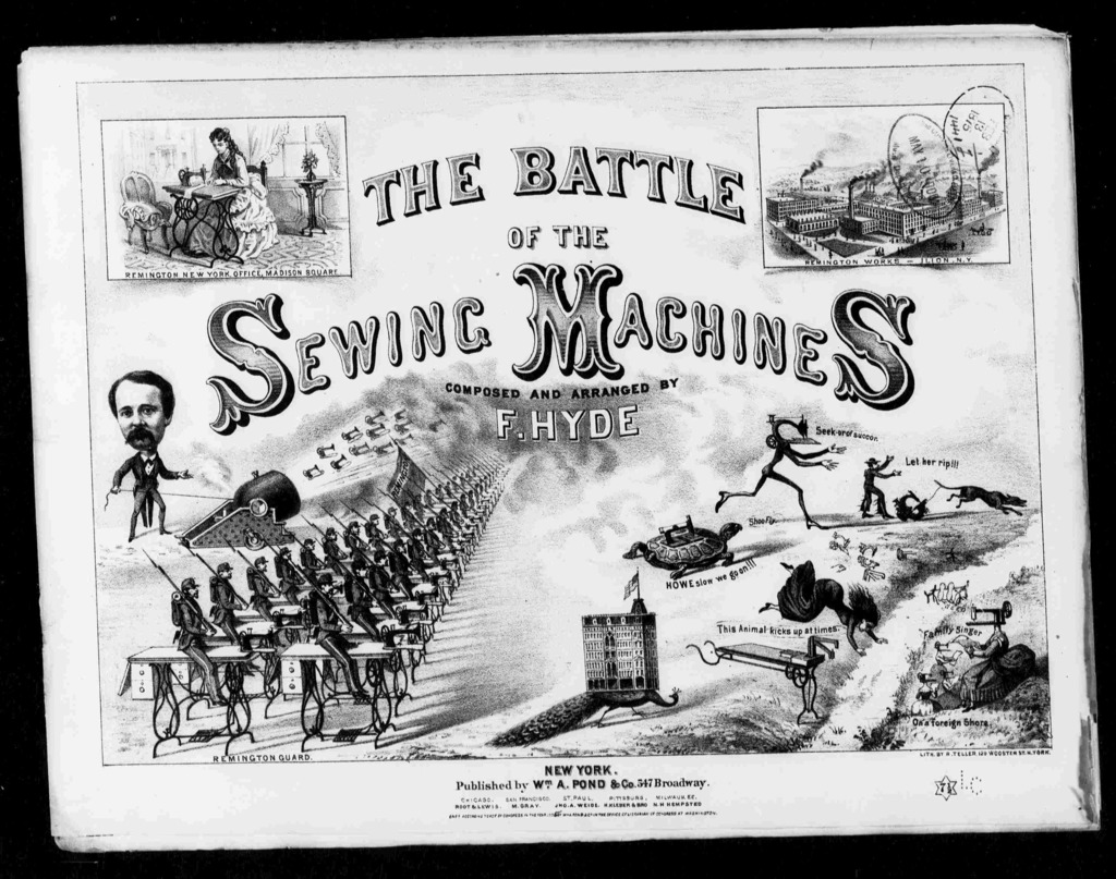 Battle of the sewing machines