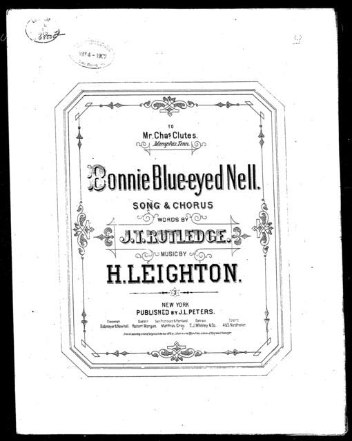 Bonnie blue-eyed Nell