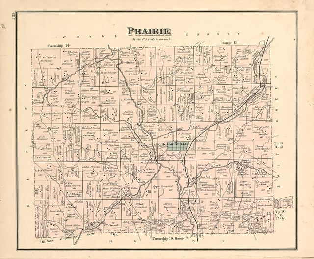 Caldwell's atlas of Holmes Co., Ohio /