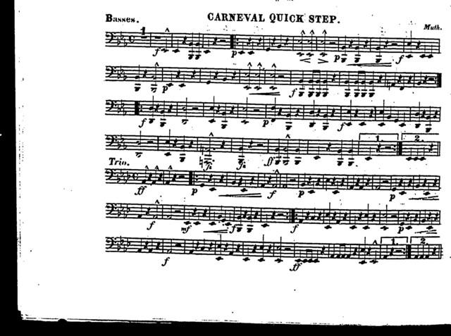 Carneval quick step