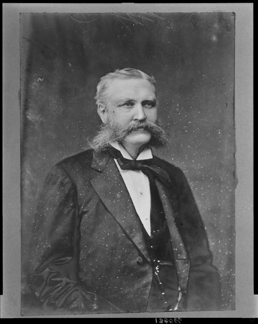 [Charles H. Adams, Republican Congressman from New York, head-and-shoulders portrait, facing front] / Brady & Handy Photo, Washington, D.C.