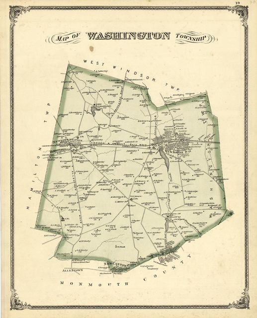 Combination atlas map of Mercer County, New Jersey /