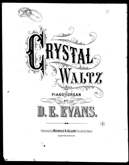 Crystal waltz