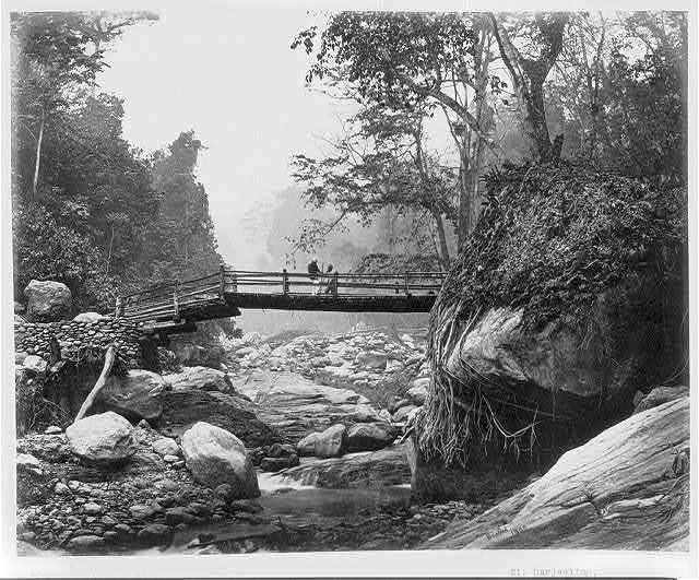 Darjeeling, bridge over the Rungroo