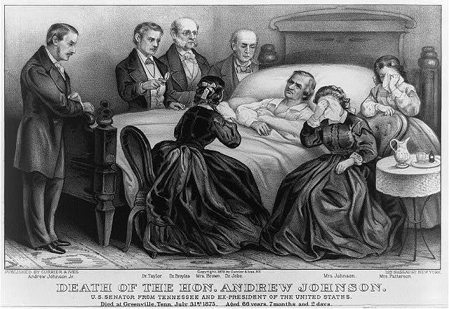 Death of the Hon. Andrew Johnson: U.S. Senator from Tennessee and Ex-President of the United States