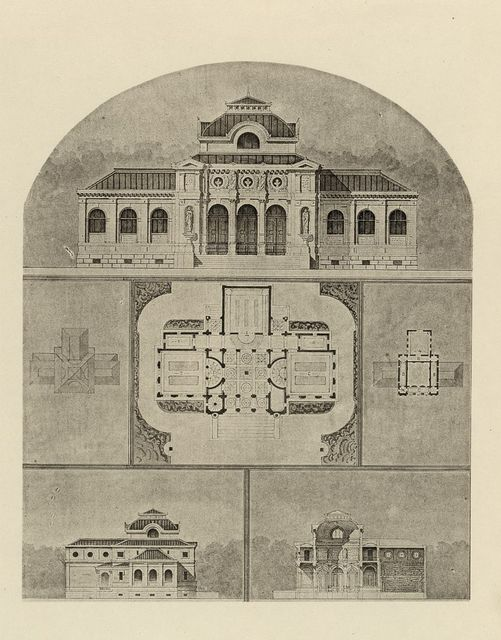 Designs for a memorial library / Mr. R.S. Atkinson and Mr. F.W. Stickney.