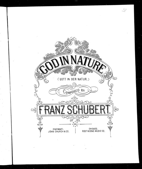 God in nature - Gott in der natur