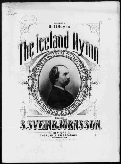 Iceland hymn, The [title page only]