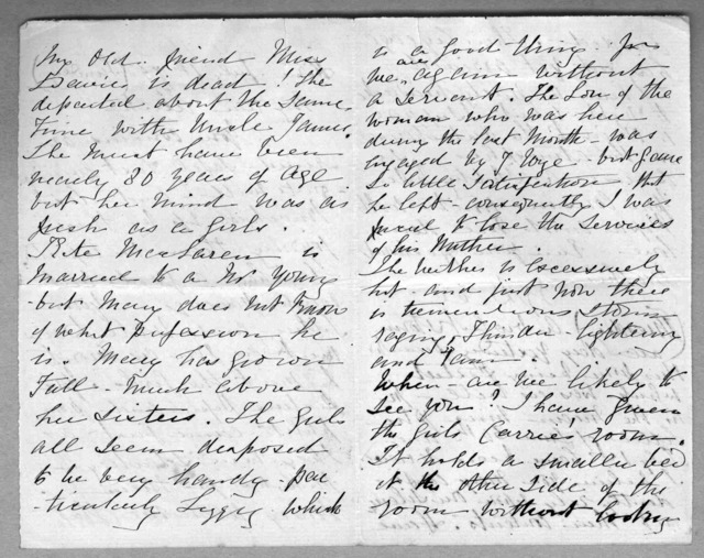 Letter from Eliza Symonds Bell to Alexander Graham Bell, July 4, 1875