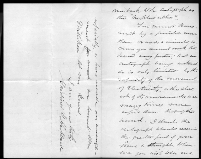 Letter from Gardiner Greene Hubbard to Alexander Graham Bell, June 19, 1875