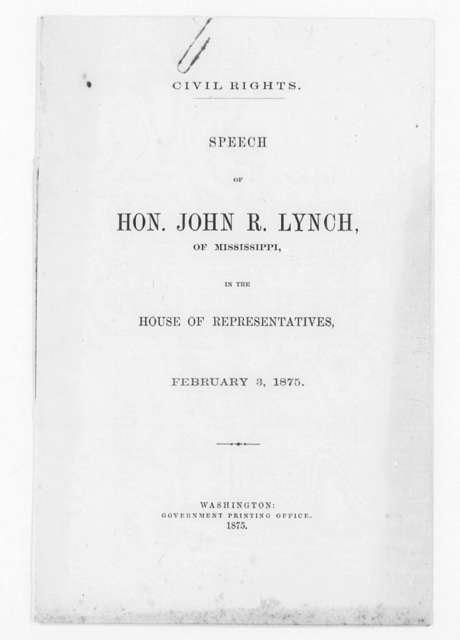 Lynch, John R.