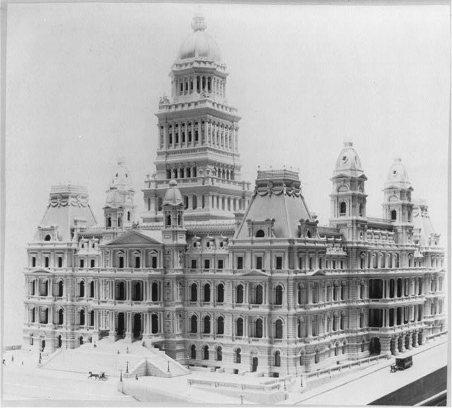 Model of new state capitol, Albany, New York