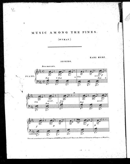 Music among the pines