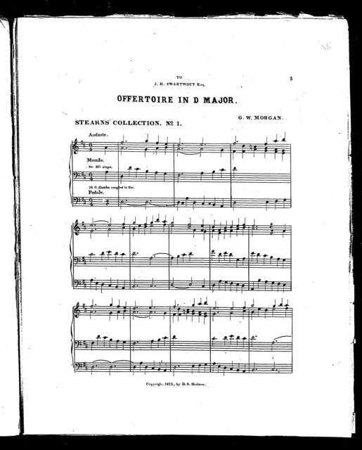 Offertoire in D Major