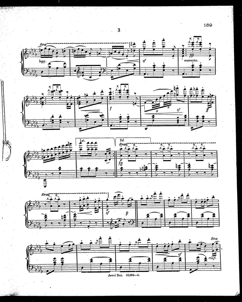 Peters' palor music