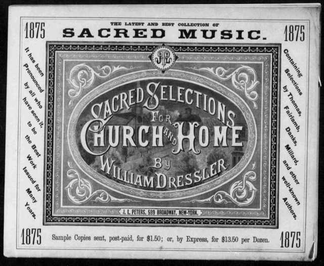 Peter's Parlor Music, No. 1