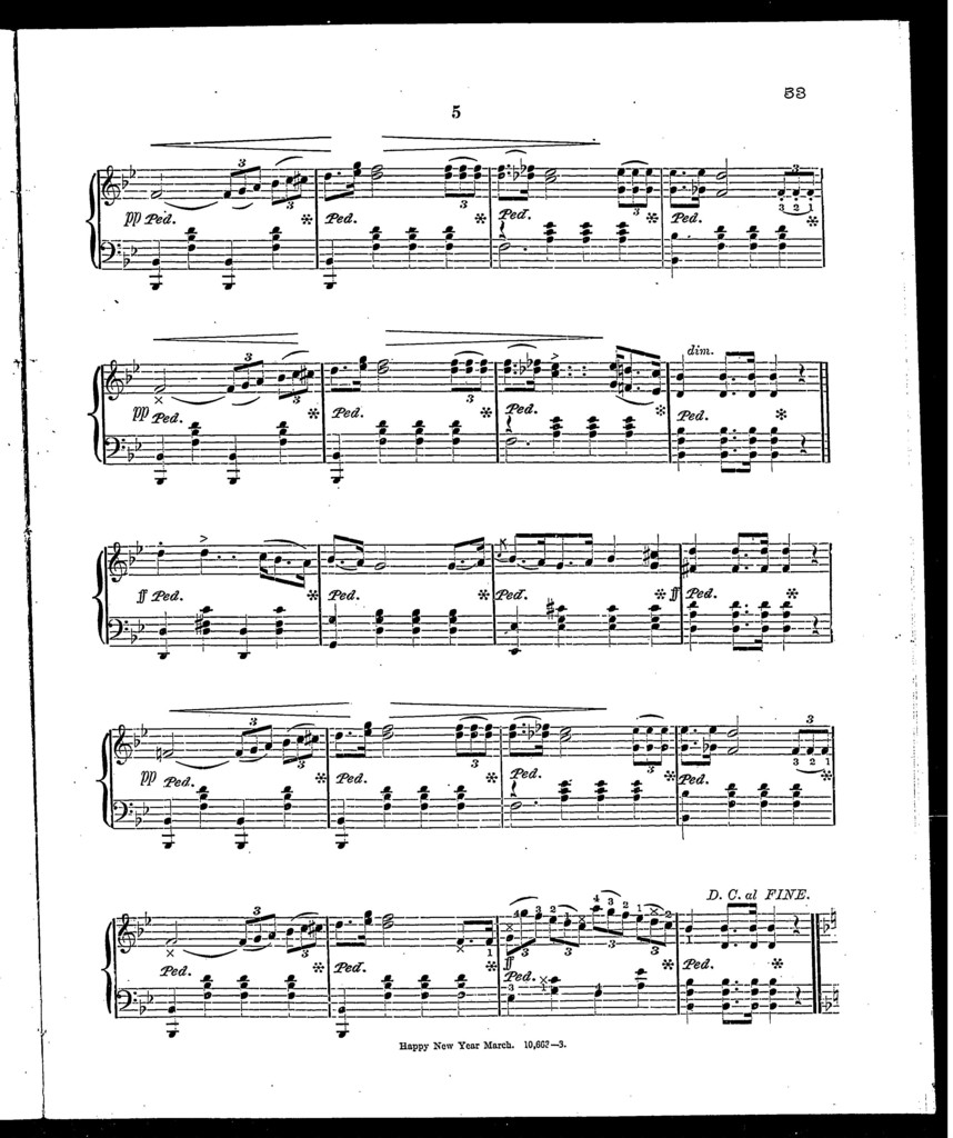 Peter's Parlor Music No. 3